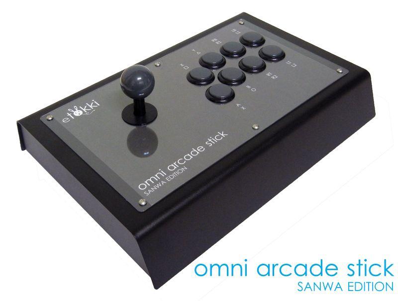 Omni Arcade Stick Sanwa Edition Arcade Stick Arcade Arcade Bartop