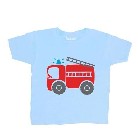 Inda-Bayi Baby-Toddler-Kids Cotton T Shirt Tractor