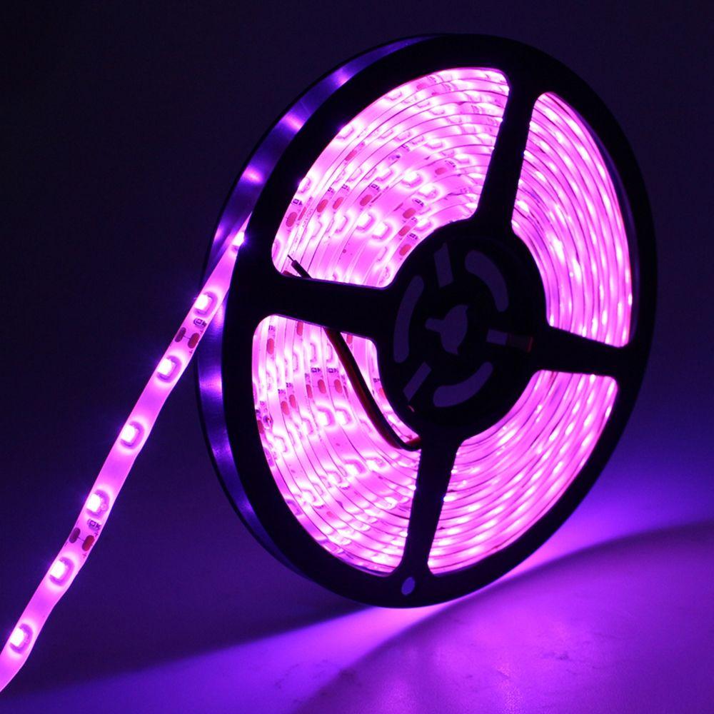 Perfect Holiday Strip Light 300 Led 5m Waterproof Pink Walmart Com In 2020 Strip Lighting Purple Led Lights Led Lighting Bedroom