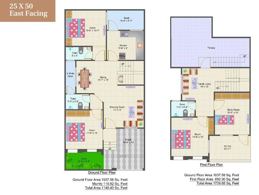 House Plan 25 X 50 Fresh 25 X 50 House Plans Home Design