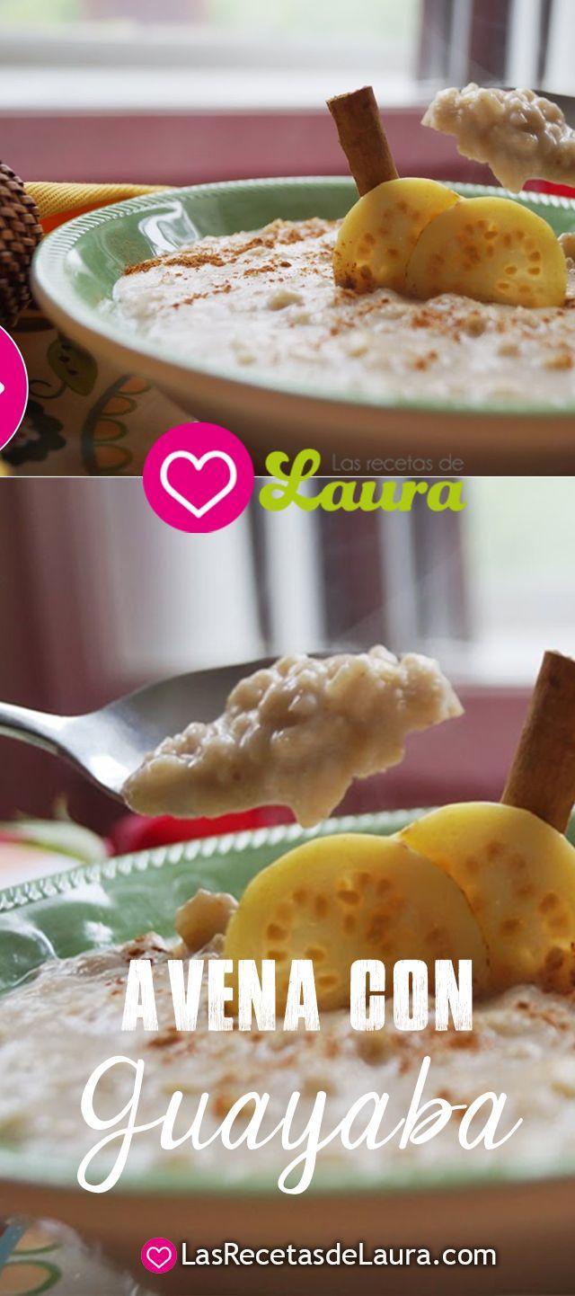 Deliciosa receta de avena con fruta, un desayuno saludable, fácil y rápido