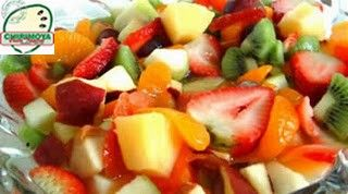 Una deliciosa ensalada de #Chirimoya para cuidarse después de estas fiestas!