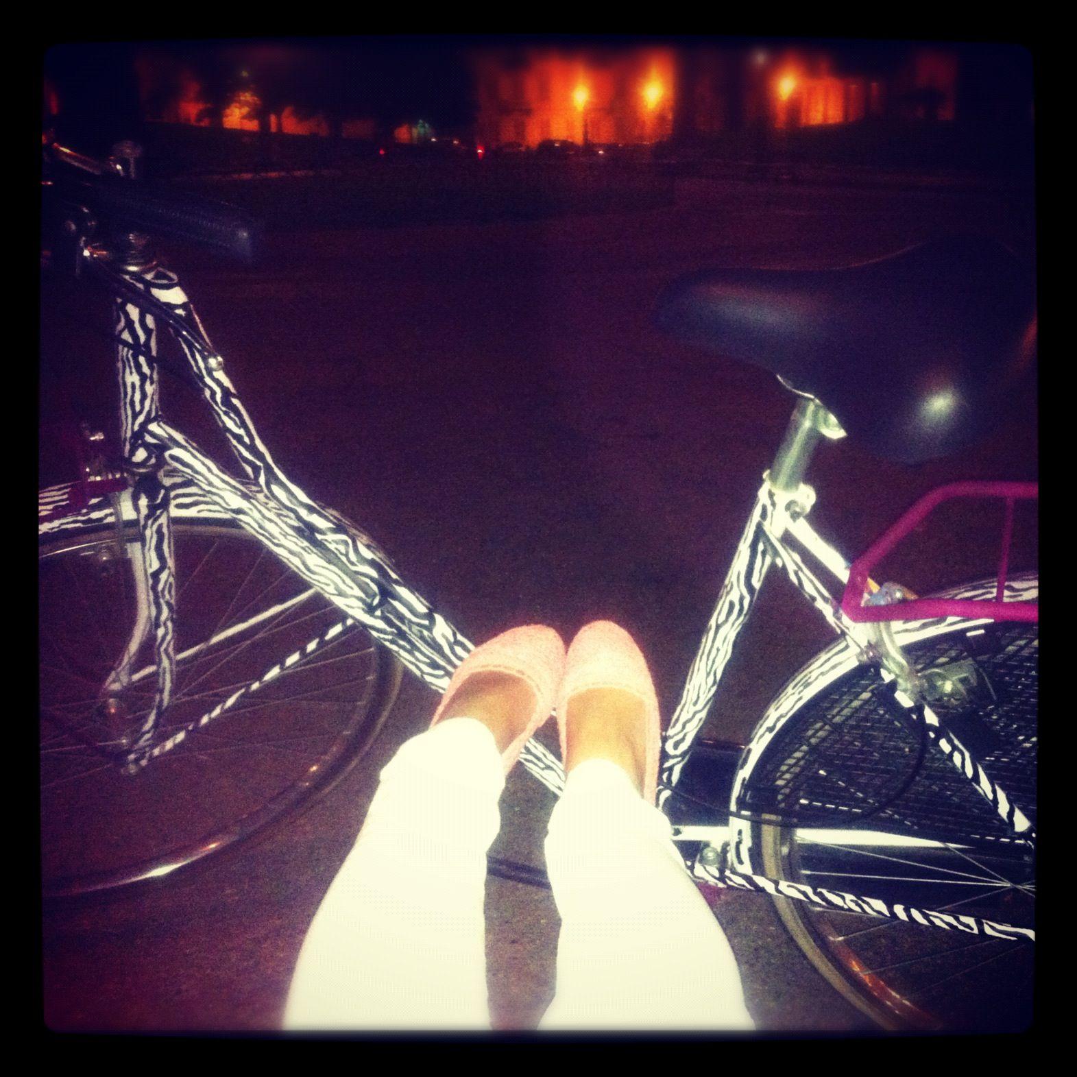 My zebra bicycle