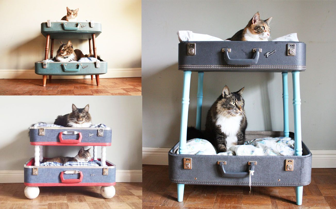 6 super cool vintage suitcase projects | Sherry Salvage