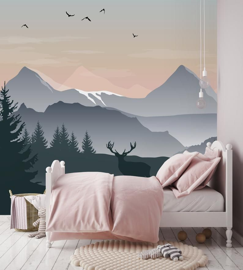 Removable Wallpaper Self Adhesive Wallpaper Ombre