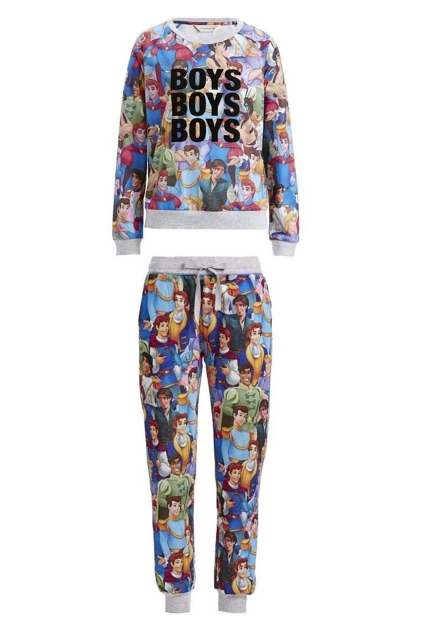 Peter Alexander Boys Boys Boys Sweater and Hunks Easy Pj Pant Colour  Multi  Details Every Disney Princess needs her Prince Charming! 880d0122d