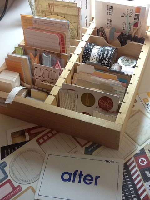 The Road to Somewhere...: Create a CHEAP Project Life Organizer!