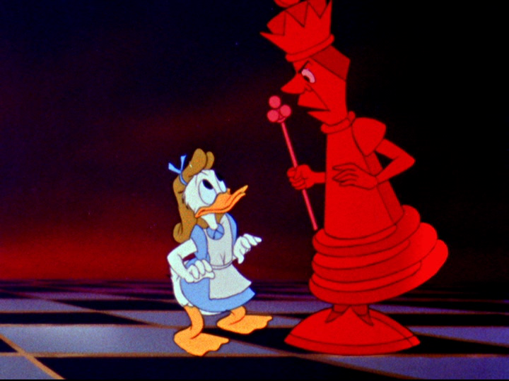 Donald Duck As Alice Lmao