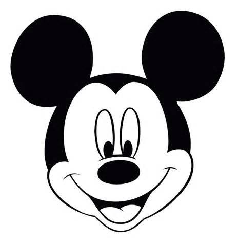 malvorlage mickey mouse kopf | coloring and malvorlagan