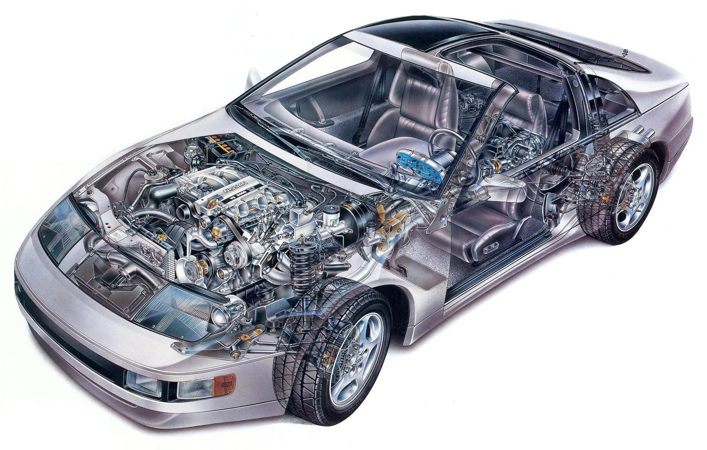 nissan 300zx z32 vehicle cutaways pinterest nissan 300zx rh pinterest co uk 1996 nissan 300zx owners manual pdf 1996 nissan 300zx owners manual pdf