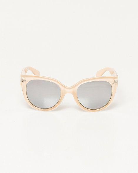 Retro Mirror Lens Sunglasses