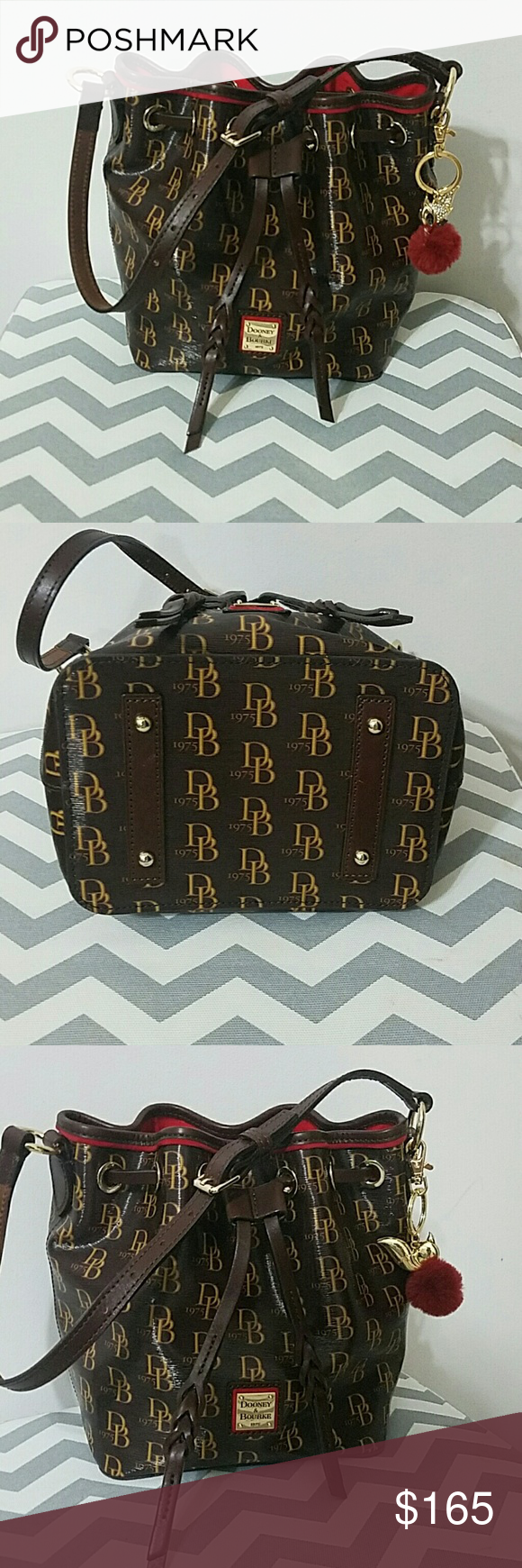 Pebble Small Logan Drawstring Bag Used twice in great condition. Make a reasonable  offer! ❤ Dooney & Bourke Bags Shoulder Bags