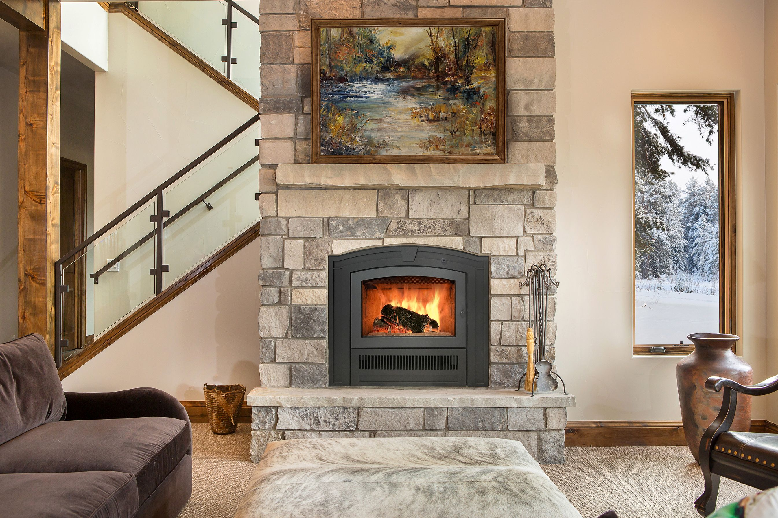 The Beautiful Rsf Opel Keystone One Fireplace With Two Facing