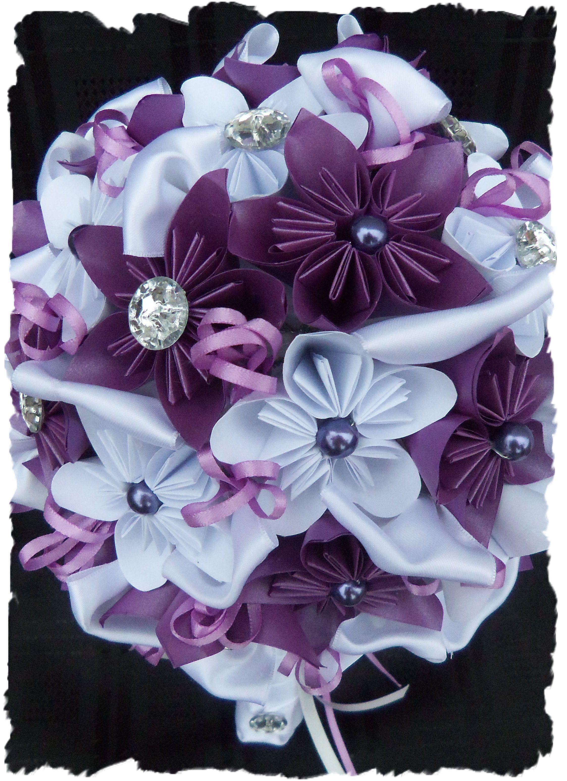 paper wedding Bouquet Handmade flowers paper, Paper