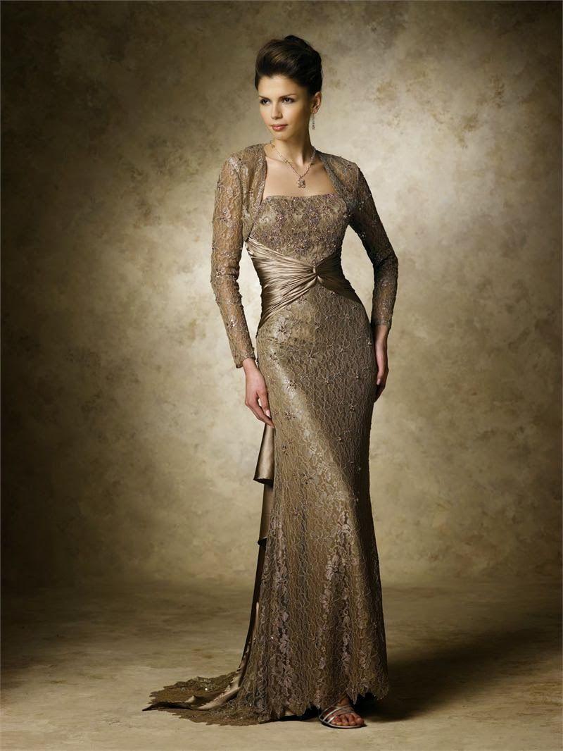 Vestidos de gala para bodas de oro