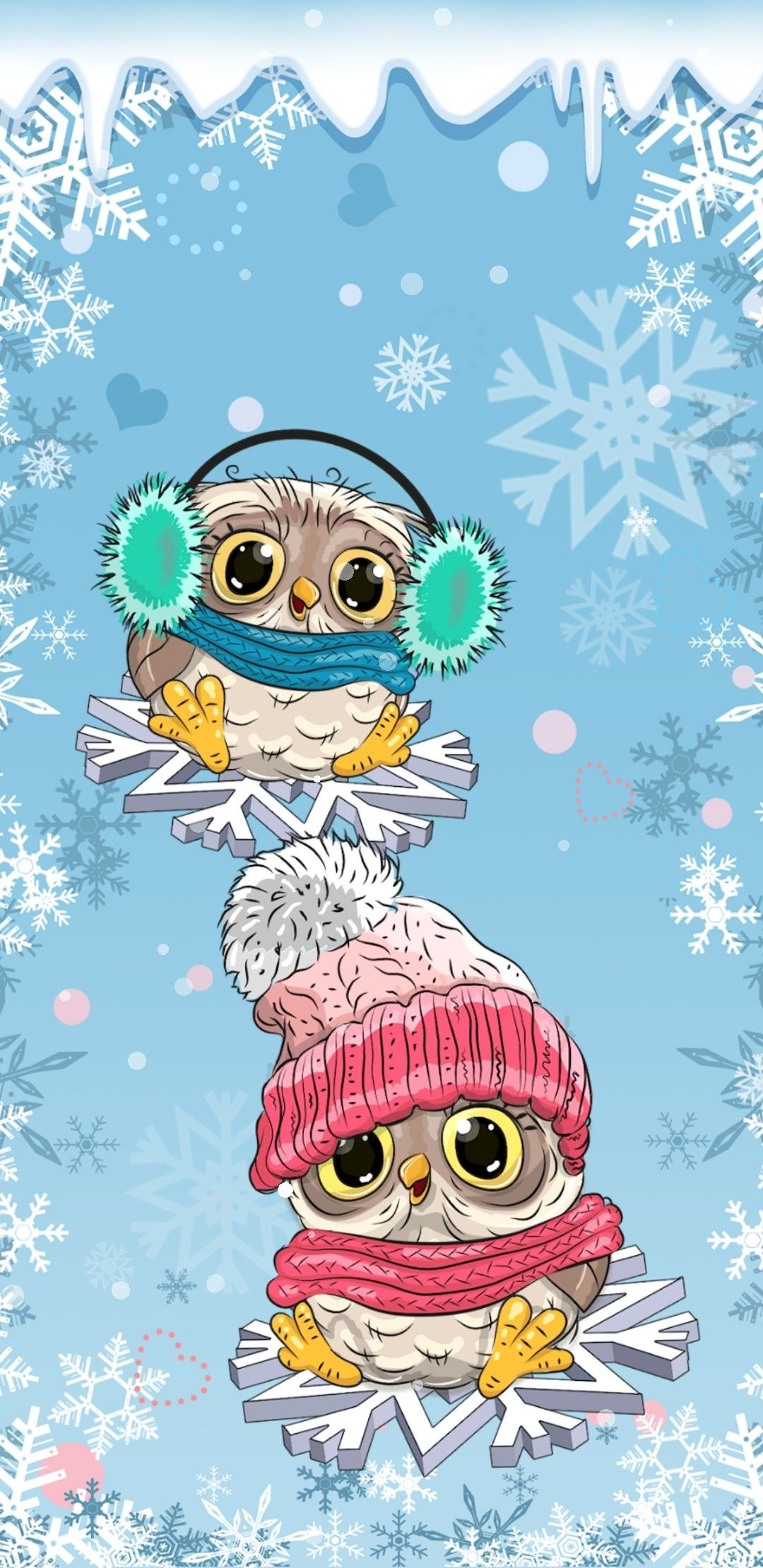 Pin By Nikkladesigns On Christmas Wallpaper 2 Owl Wallpaper Iphone Wallpaper Winter Cover Wallpaper