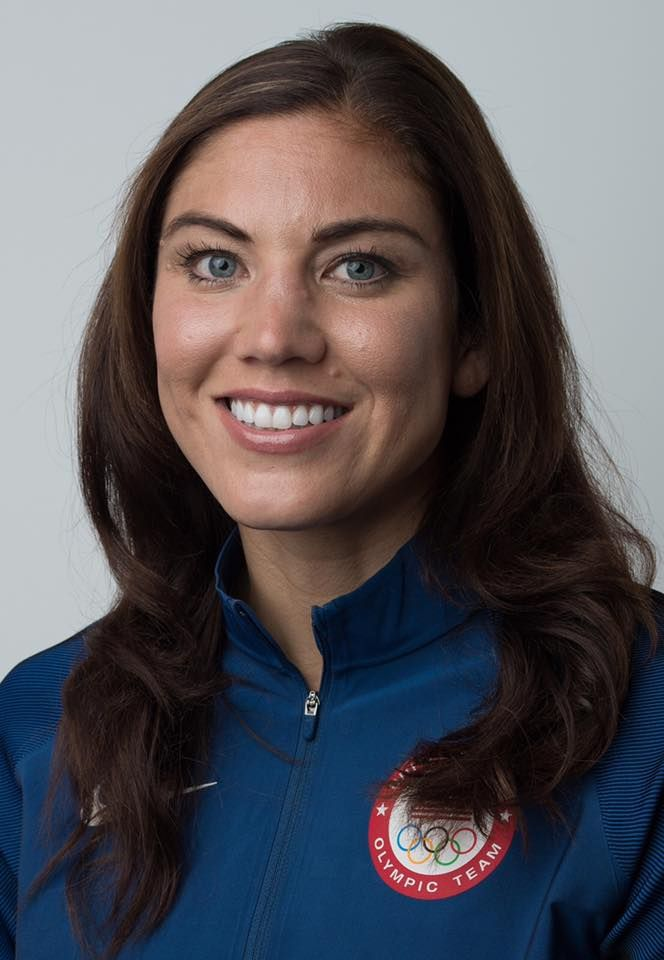 Hope Solo 2016 Olympic Team Photo   Usa soccer women