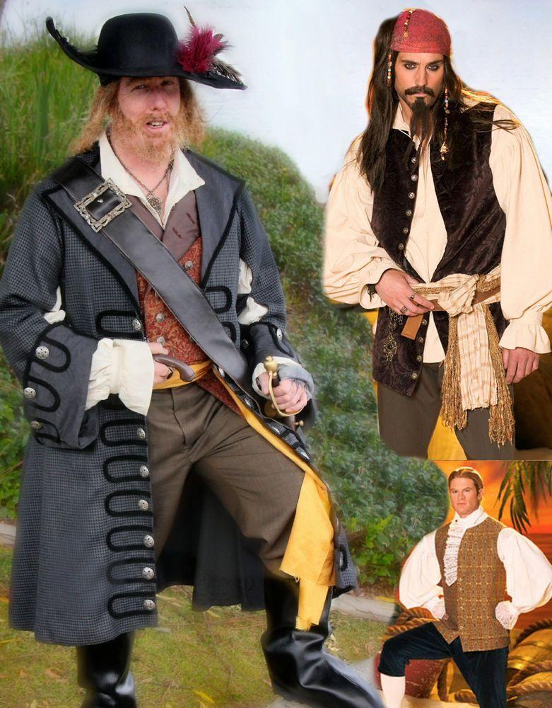 Pirates Jack Sparrow - Barbossa Caribbean Costume SEWING PATTERN Simplicity 4923 #Simplicity4923  sc 1 st  Pinterest & Pirates Jack Sparrow - Barbossa Caribbean Costume SEWING PATTERN ...