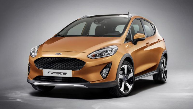 2018 Ford Fiesta Line Adds Crossover Esque Active Trim Cylinder