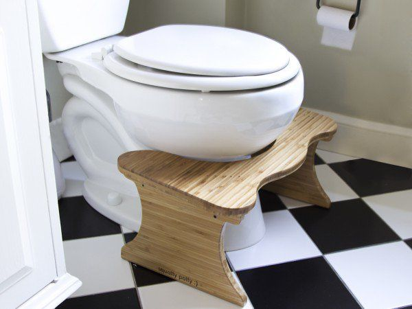 Improving Your Bathroom Posture Is Easy With The Squatty Potty Toilet Footstool It S A Simple Step Toward Healthier Li Toilet Stool Squatty Potty Potty Toilet