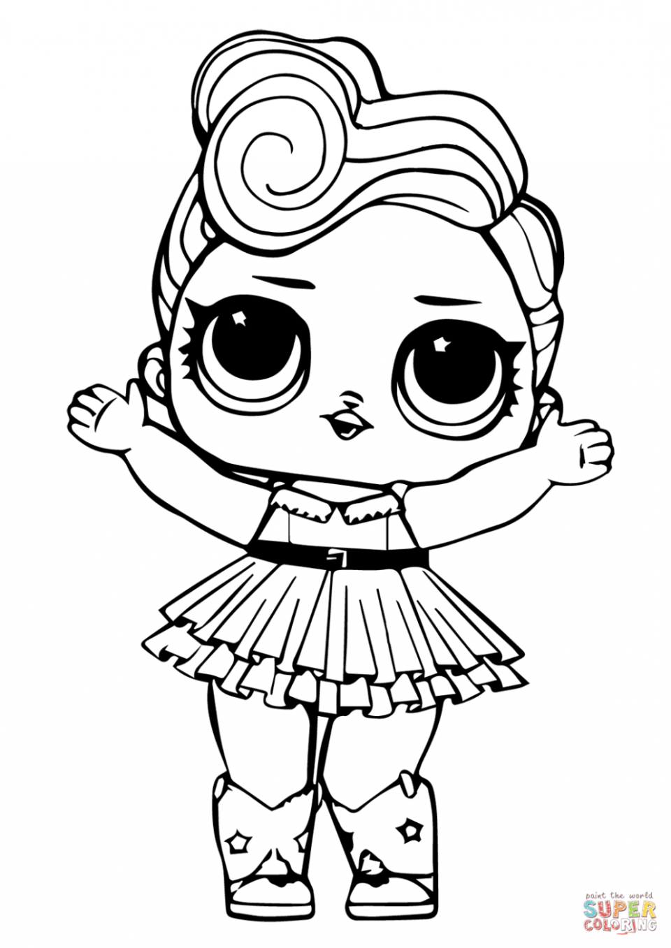 Lol Doll Coloring Pages Printable Unicorn Unicorn Coloring Pages Super Coloring Pages Star Coloring Pages