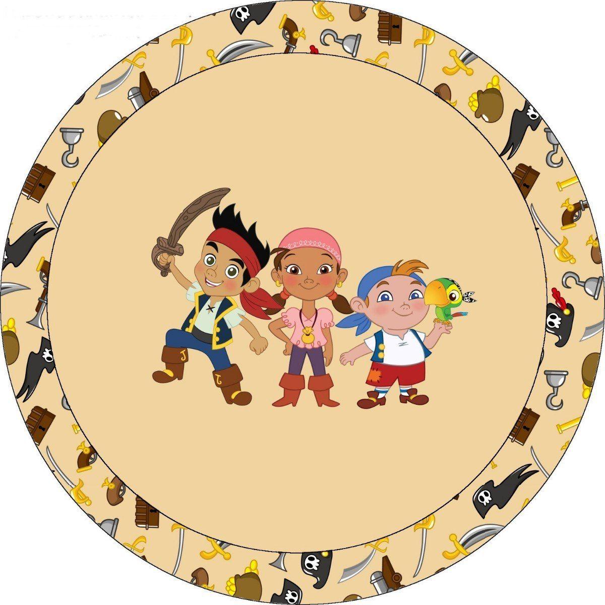 Decoraci n jake y los piratas de nunca jam s pictures to pin on - Kit Imprimibles Gratis Jake Y Los Piratas Buscar Con Google