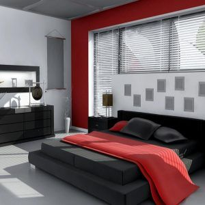 Black Grey And Red Bedroom Ideas Bedroom Red White Bedroom Design White Bedroom Decor