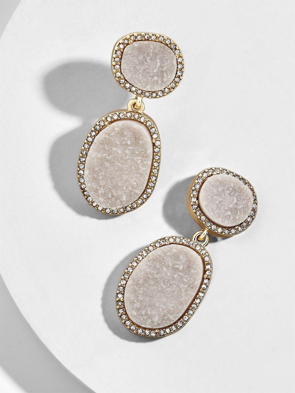 e8b1fec8a Krystal Druzy Drops   BaubleBar   clothes in 2019   Jewelry, Drop ...