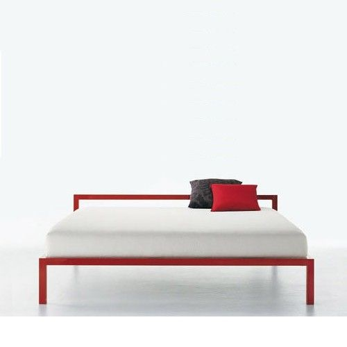 Aluminum Bed By Bruno Fattorini Platform Bed Available