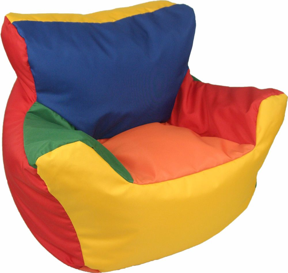 Baby Bean Bag Armchair Beanbag Kids Seat Toddlers High Chair Soft Play Furniture