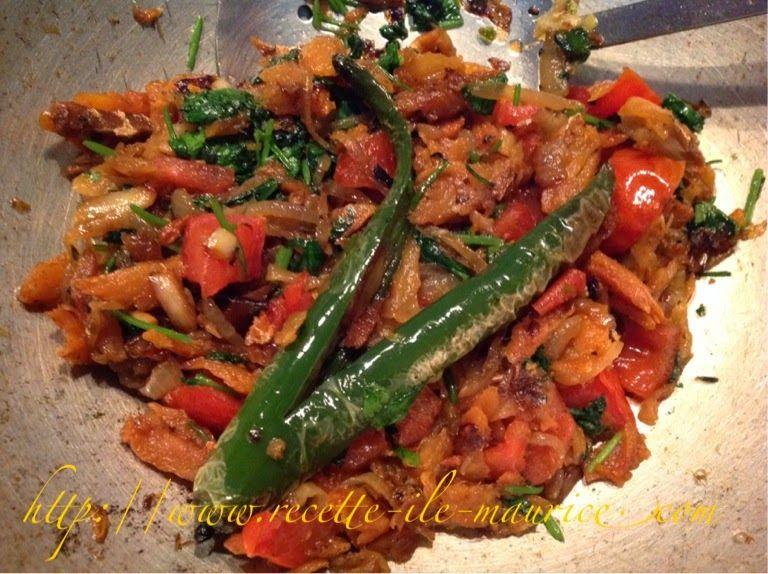 Recette de cuisine de l 39 ile maurice cuisine mauricienne de tous les jours rougaille poisson - Cuisine mauricienne chinoise ...
