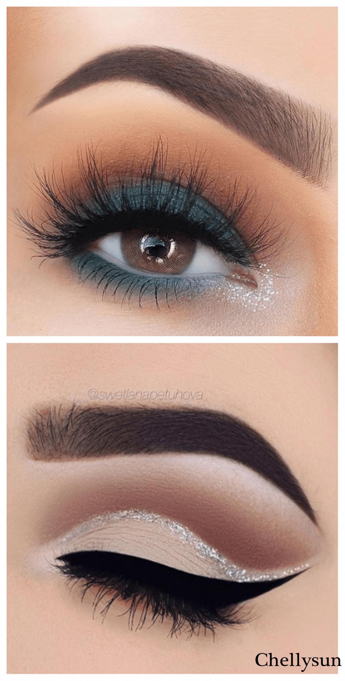¿Qué color de delineador resalta mejore en el maquillaje