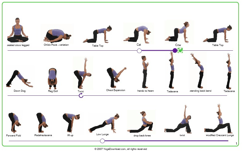 photograph about Bikram Yoga Poses Chart Printable called Track down Your Zen with Yoga for Newcomers Yoga Easy yoga