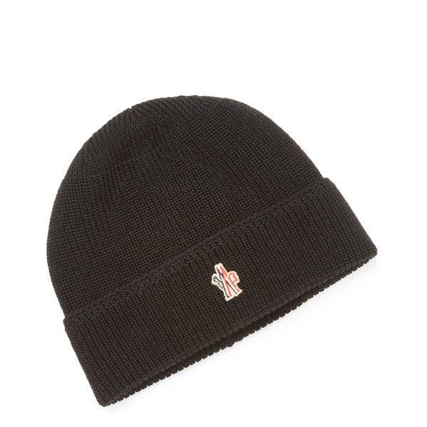 Moncler Grenoble Men S Ribbed Skull Cap Black 149 Liked On Polyvore Featuring Men S Fashion Men S Accessories Men Wool Hat Men Hats For Men Mens Caps