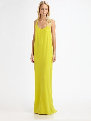 Kas new york sue bead neck maxi dress