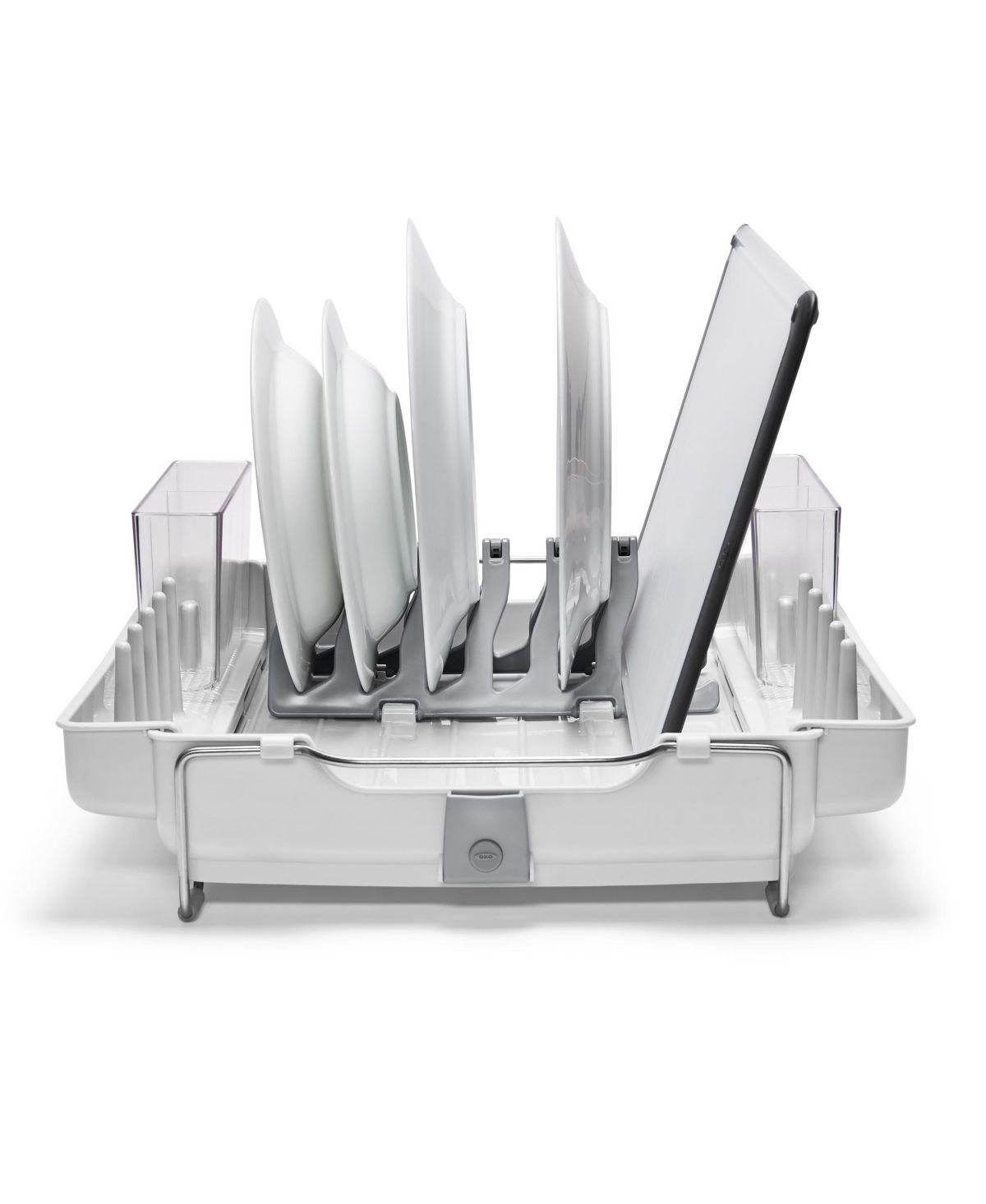 Oxo Good Grips Foldaway Dish Rack Reviews Home Macy S Dish