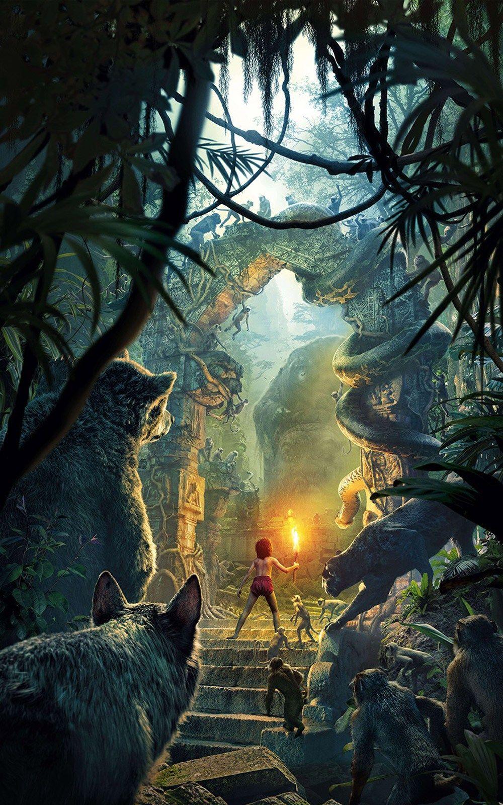 Junglebook Jungle book 2016, Best movie posters, Jungle