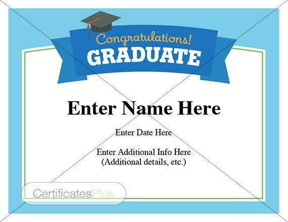 Graduation Certificate, graduation wishes, Congratulations Graduate