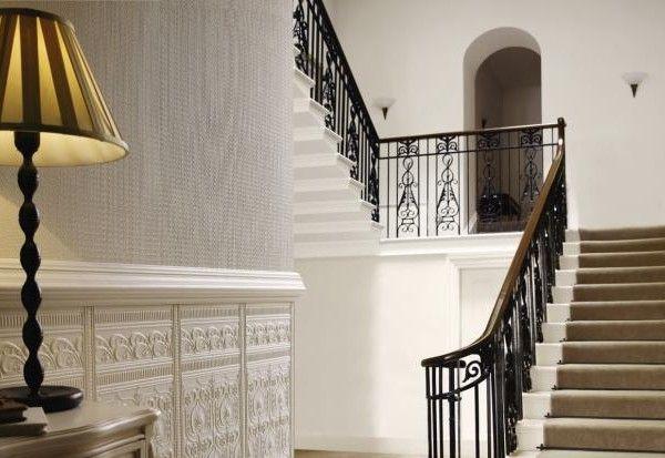 lincrusta paneele edwardian struktur zum streichen. Black Bedroom Furniture Sets. Home Design Ideas