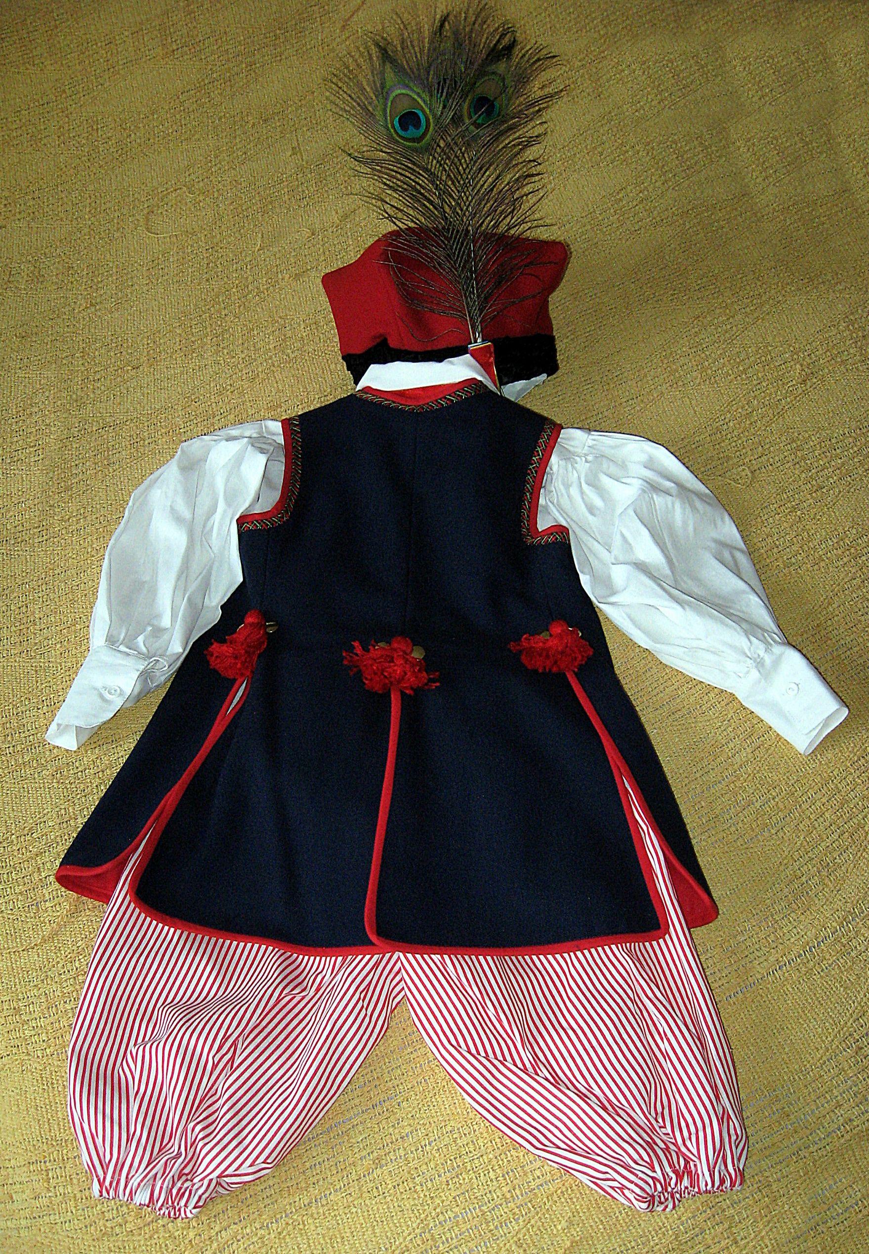 Stroj Krakowski Chlopiecy Fashion Sewing Apron