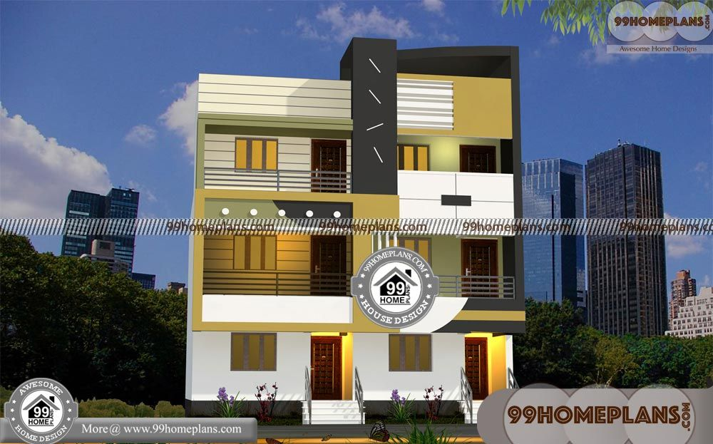 Indian Style Small Apartment Ideas With Front Elevation Design House Photos Floor Plan 3 4 Total Bedroom Bathroom