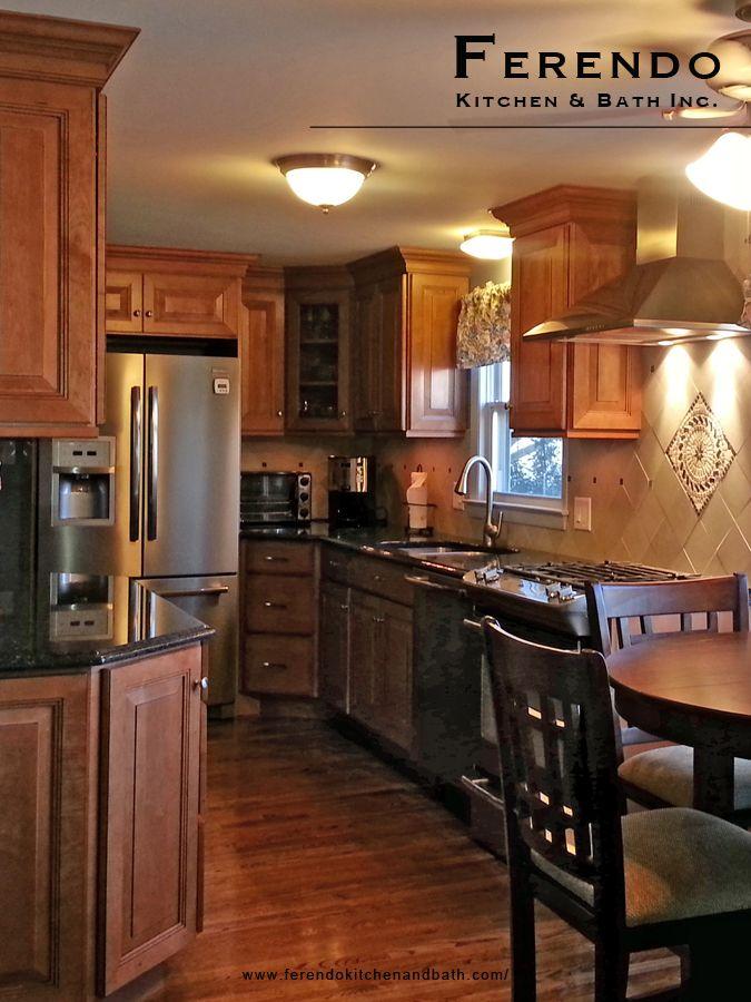 Designed by Ferendo Kitchen & Bath #Rhode #Island #Kitchen #Design ...