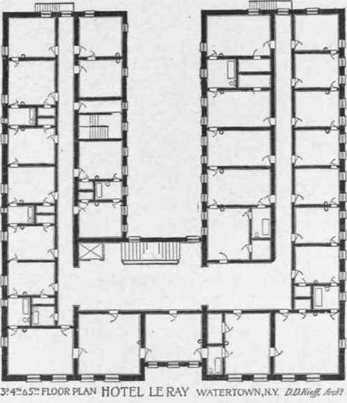 Tig 102 upper floor plan of hotel a r c h pinterest 102 upper floor plan of hotel malvernweather