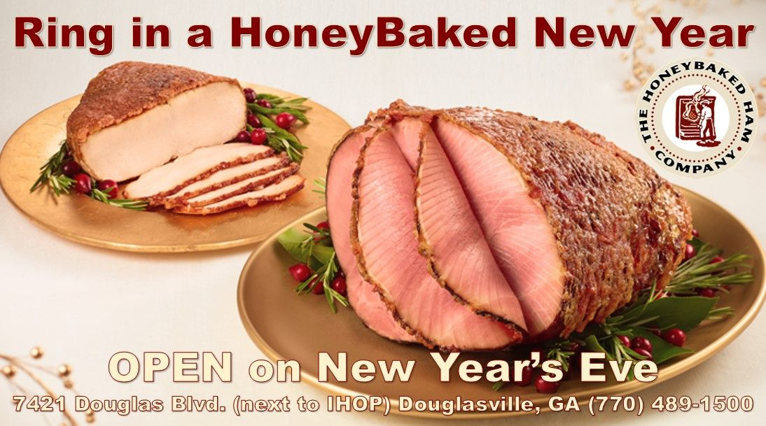 Count down to the new year with honeybaked pick up