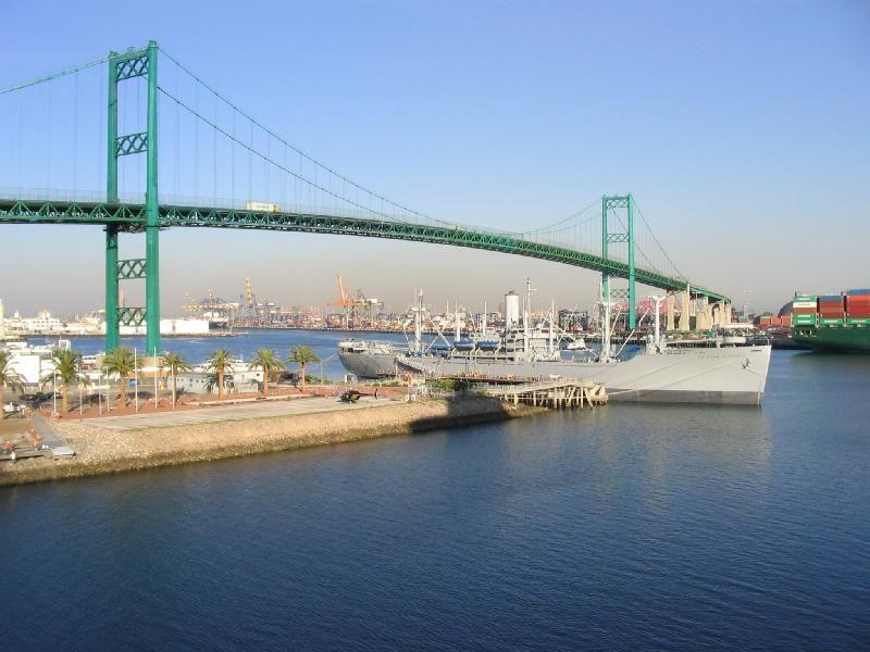San Pedro, CA, Vincent Thomas Bridge