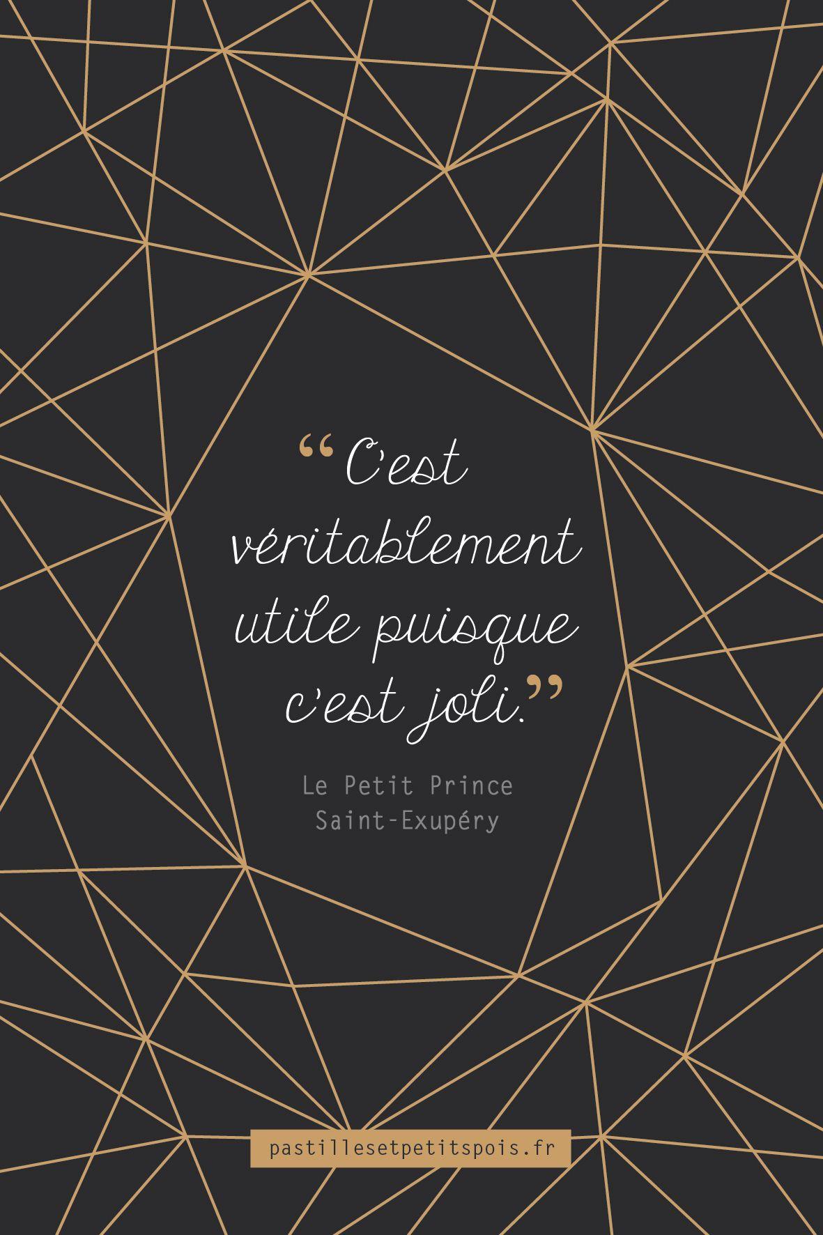 Citation Originale Livre Le Petit Prince De Saint Exupéry
