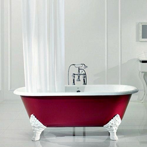 I like the painted bath idea.
