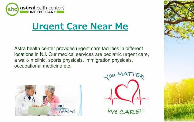Emergency Room & Urgent Care Near Me Services At Astra Health Center ...