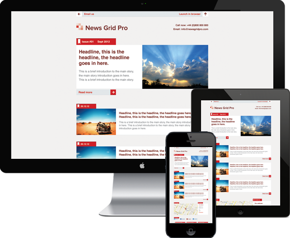 News Report Enewsletter Google Search Breaking News Pinterest - Email grid template
