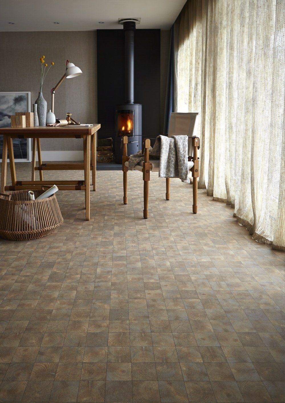 Woodland interior to inspire wood effect floor vinyl